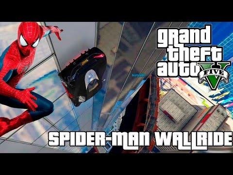SPIDER-MAN WALLRIDE! ESSA MACUMBA BRABA NÃO VAI ME IMPEDIR   GTA 5 ONLINE