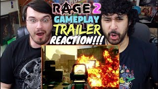 RAGE 2 Extended GAMEPLAY TRAILER - E3 2018 - REACTION & REVIEW!!!