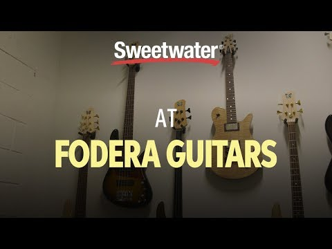 Fodera Guitars Factory Tour with Sweetwater