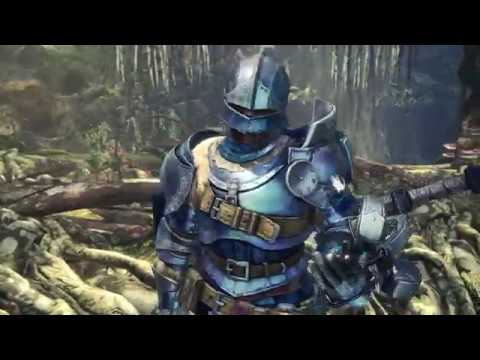 "Monster Hunter: World - ""The Graceful Tobi-Kadachi"" Introduction, Alloy Armor Cutscene (2018)"