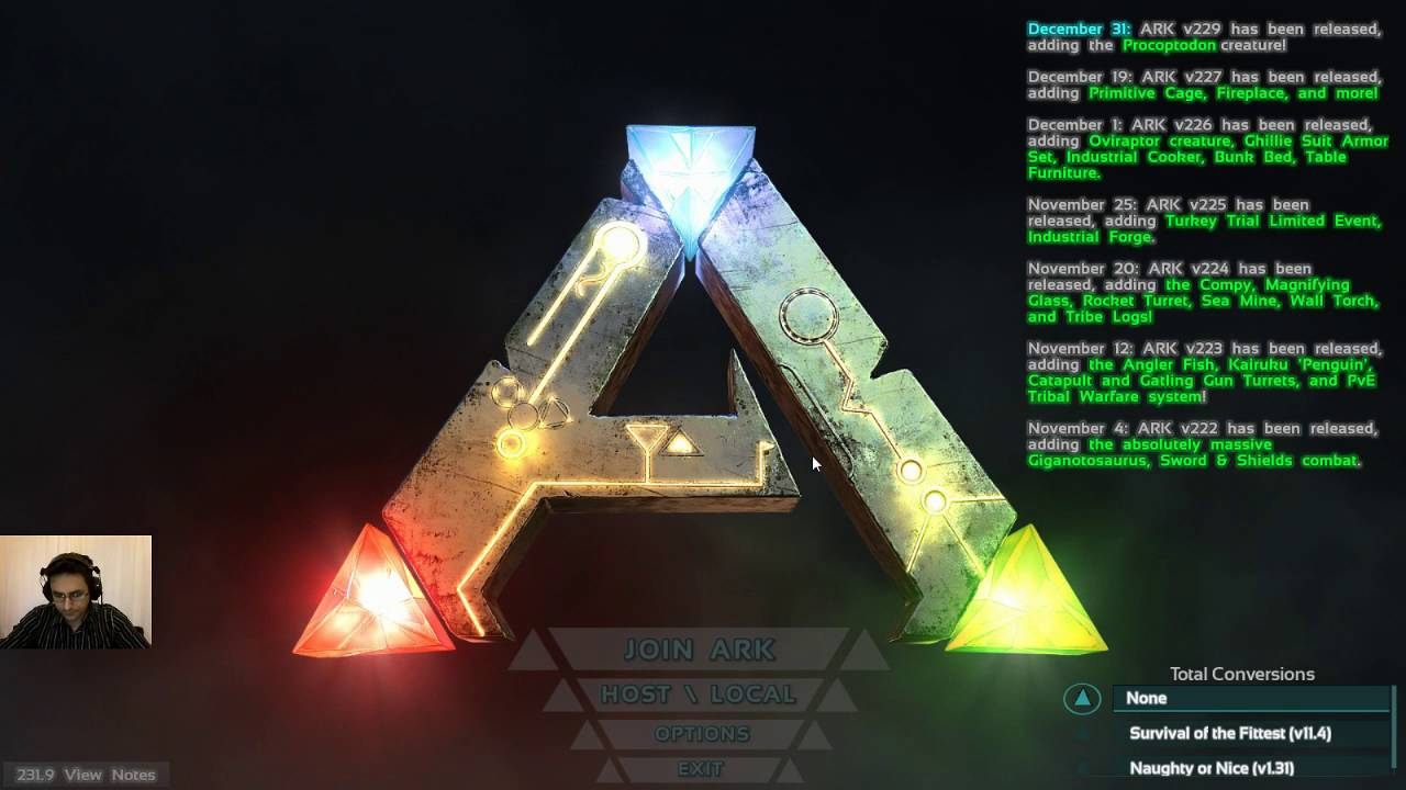 how to get a server on ark