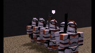 [ROBLOX] 212th Attack Battalion Star Sim ARC Trooper Event