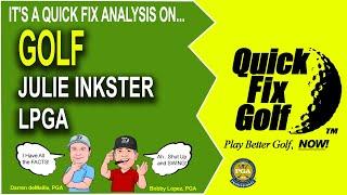 golf swing analysis julie inkster