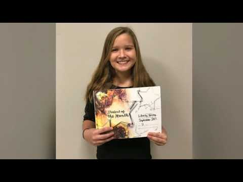 Shikellamy Middle School - September Student of the Month