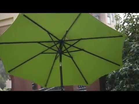 37ff5391de86 Sundale Outdoor 8.2 Ft Sunbrella Fabric Patio Garden Umbrella(PU041)