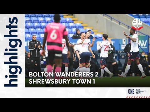 Bolton Shrewsbury Goals And Highlights