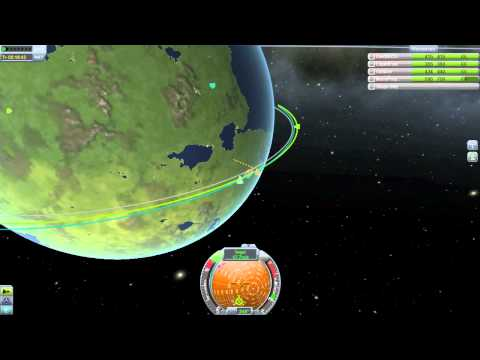 KSP Orbiting and Docking tutorial