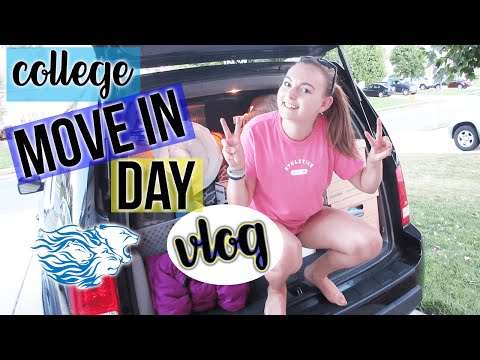 VLOG: COLLEGE MOVE IN DAY 2016 (WIDENER)