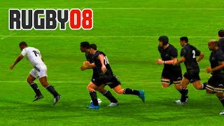 EA Sports Rugby 08 Gameplay- First time in years!