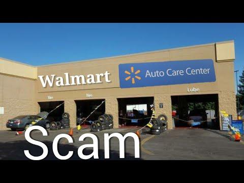 Walmart Auto Care Center Isn't Safe?