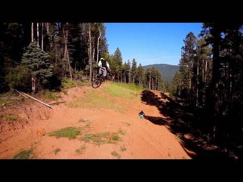 Downhill Mountain Biking at Angel Fire Bike Park | Largest Bike Park in the Rocky Mountains