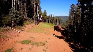 Downhill Mountain Biking at Angel Fire Bike Park 2014