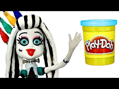 Thumbnail: Play Doh STOP MOTION Monster High Doll video - - - Animación Monstruo Muñeca