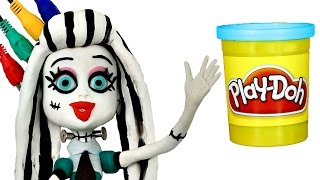 Play Doh STOP MOTION Monster High Doll video - - - Animación Monstruo Muñeca