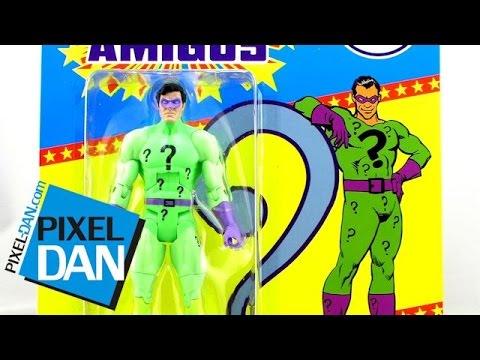 Mattel DCUC Super Powers Collection Riddler Figure Video Review