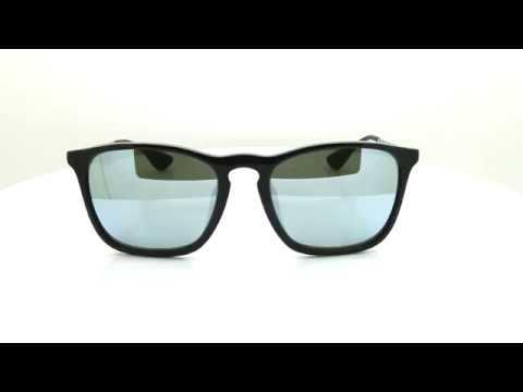 2710fb75572c3 แว่นกันแดด RAY-BAN CHRIS RB4187F 601 30 54 - YouTube