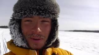 Avancée sur le Lac gelé Albanel - CANADALASKA Thumbnail