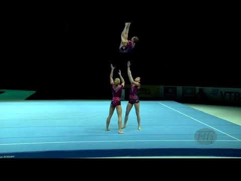 Russian Federation (RUS) - 2018 Acrobatic Worlds, Antwerpen (BEL) - Dynamic  Women's Group