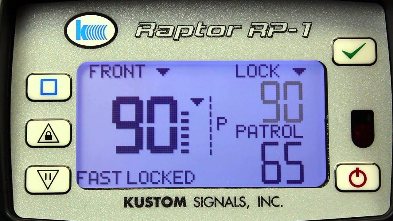 Kustom Signals Raptor Rp 1 Manual Eagle Timer Wiring Diagram 2008 Toyota Highlander Speaker