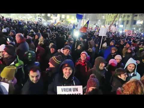 Protest în București - 1 februarie 2017