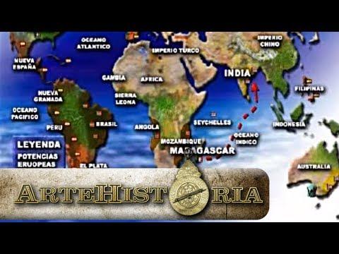 El Mundo a mediados del siglo XVIII