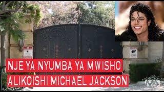 Nje ya nyumba aliyokua akiishi Michael Jackson