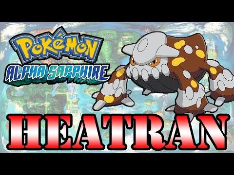 Caçando Lendários [Pokémon Alpha Sapphire] - Heatran