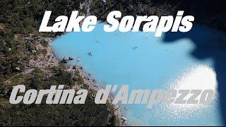 Lago di Sorapis - Lake Sorapis - Cortina d'Ampezzo - Drone