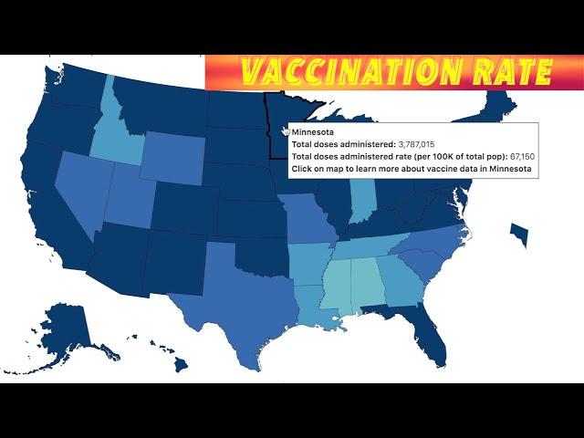 Minnesota & North Dakota Doing Well In Race To Vaccinate