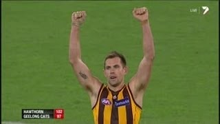 Hawthorn v Geelong - The last two minutes