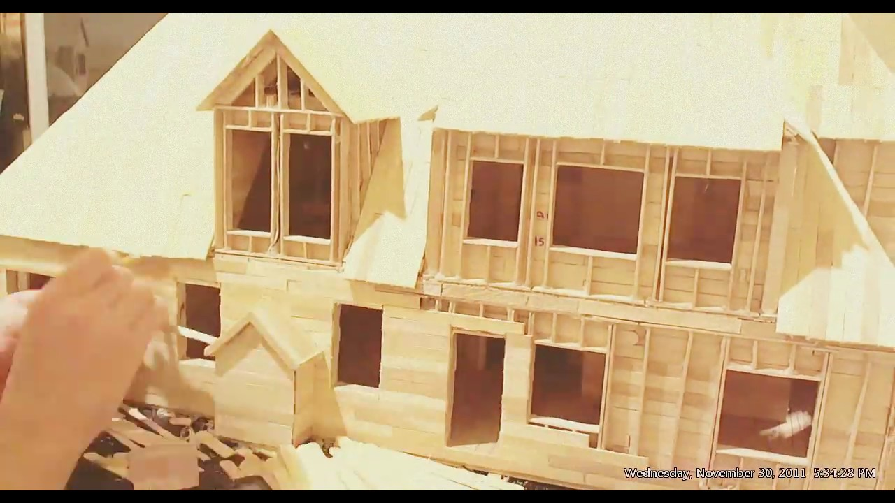 Animation Building A House