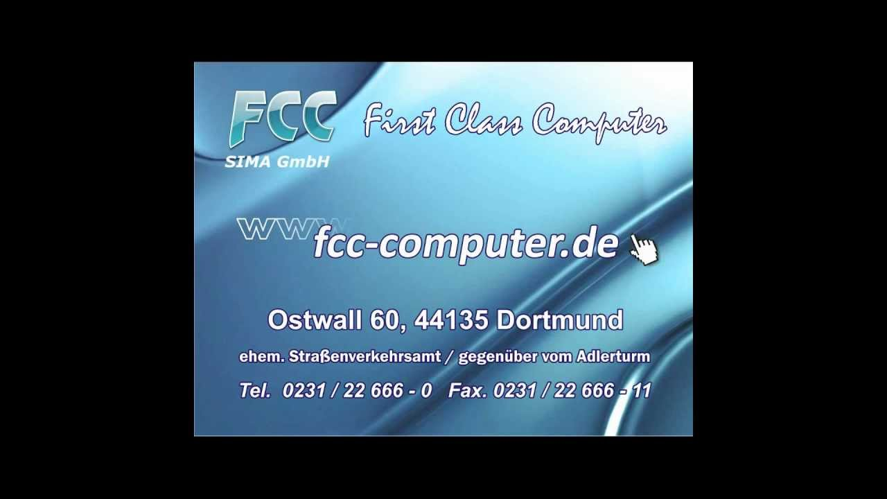 fcc first class computer dortmund. Black Bedroom Furniture Sets. Home Design Ideas