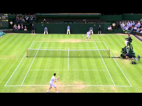 2013 Day 5 Highlights: Andy Murray v Tommy Robredo
