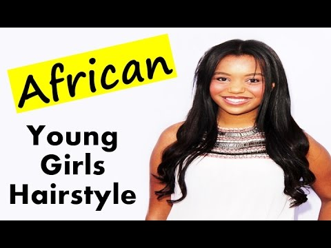 Cute Black African Young Girls Best Hairstyle