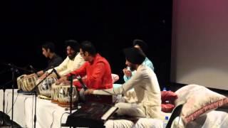 Group tabal vaadan students of Rhythm School of Indian Music, Auckland.part 1