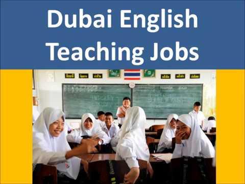 Dubai English Teaching Jobs