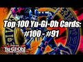 The Top 100 Yu-Gi-Oh! Cards of All Time! | #100-#91