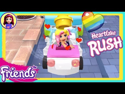 Lego Friends Heartlake Rush With Valentine Special Edition Chloe App Gameplay Kids Toys