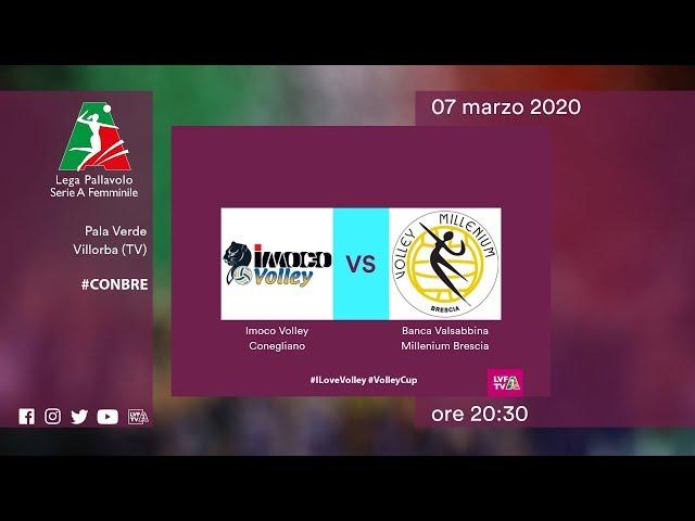 Conegliano - Brescia | Speciale | 20^ Giornata | Lega Volley Femminile 2019/20