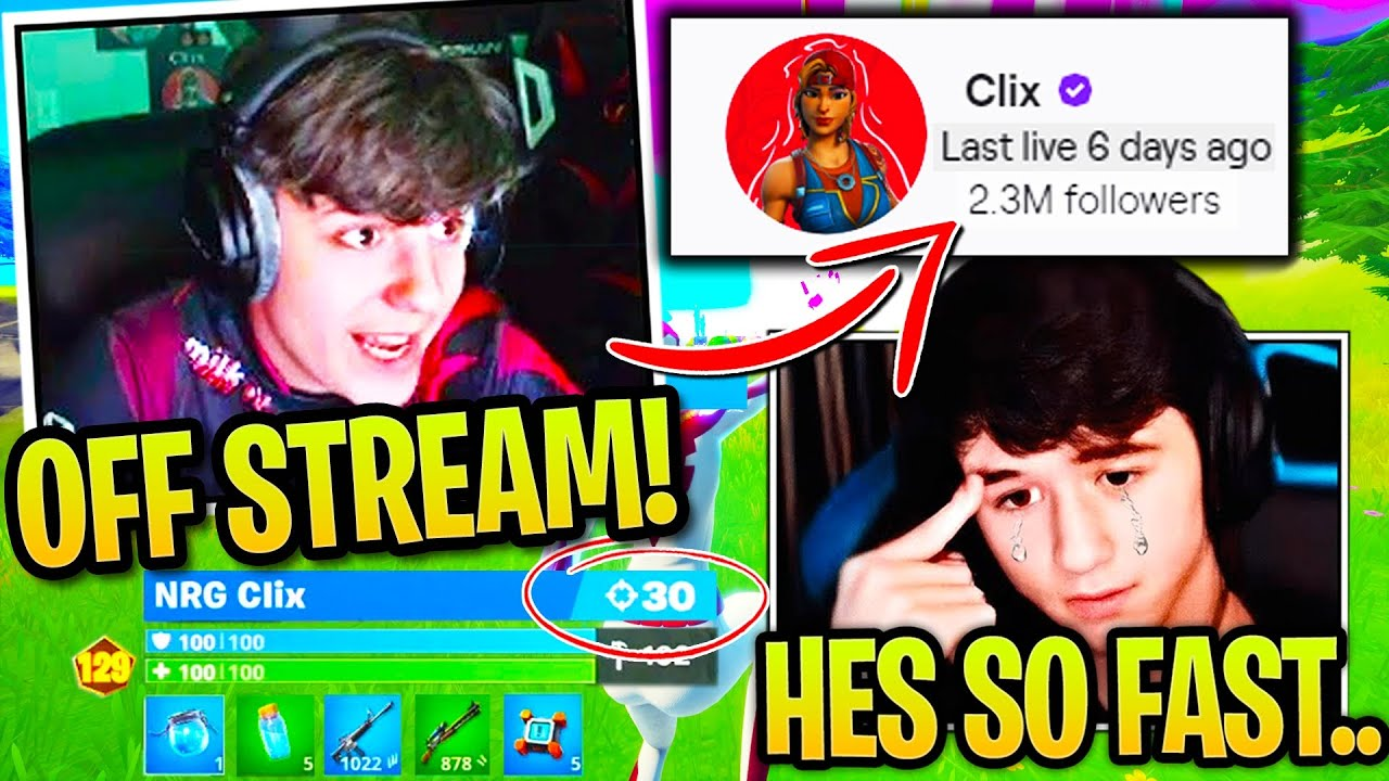 Clix Leaves PROS Terrified after GRINDING Creative Mechanics OFF STREAM then DOING THIS! (Fortnite)