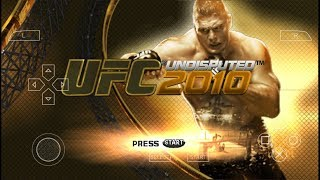 Game Android Offline UFC 2010 Undisputed (PPSSPP) Link + Cara Install