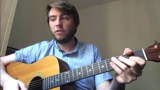 Guitar with Oliver Day - Beginner warm up scales - C major