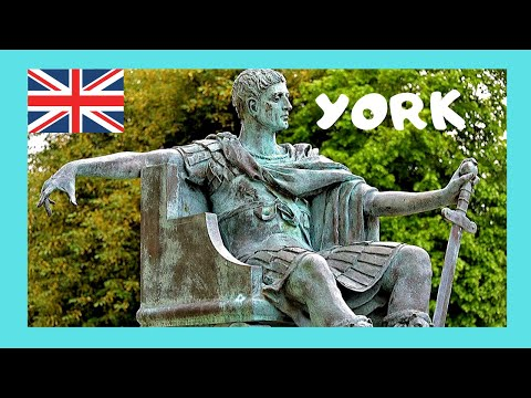 Constantine the Great in YORK (England), amazing historical journey