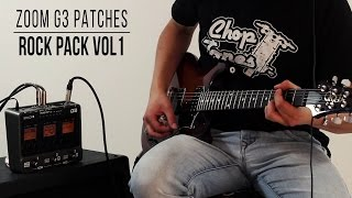 Download Video Zoom G3/G3x Patches: Rock Pack vol.1 (Playthrough) MP3 3GP MP4