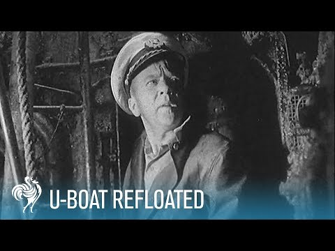 U-Boat Refloated: Salvage of a Nazi Submarine (1958) | British Pathé