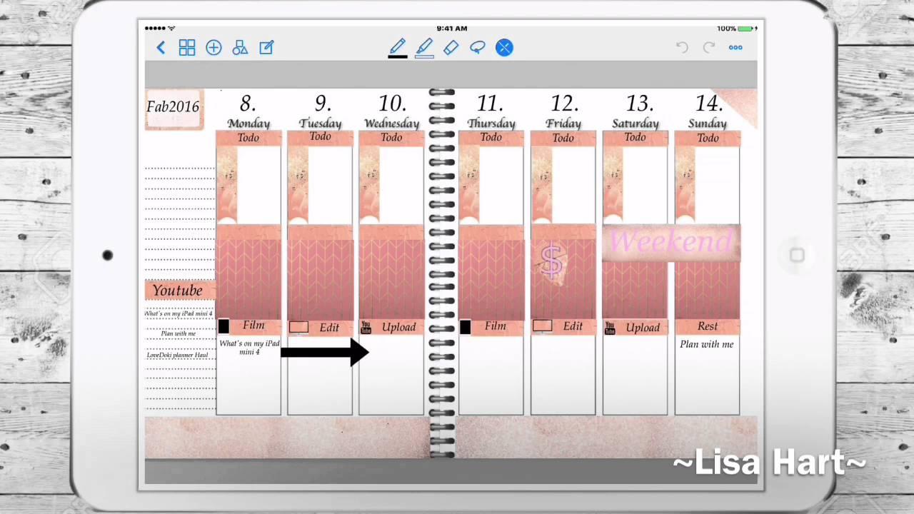 My Digital Planner Setup! - YouTube