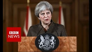 Theresa May: Syria strikes 'both right and legal'   - BBC News