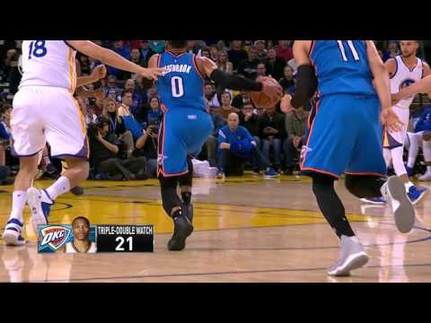 Oklahoma City Thunder at Golden State Warriors - January 18, 2017