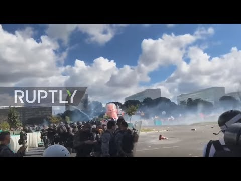 Brazil: Army deployed to protect govt buildings amid clashes in Brasilia