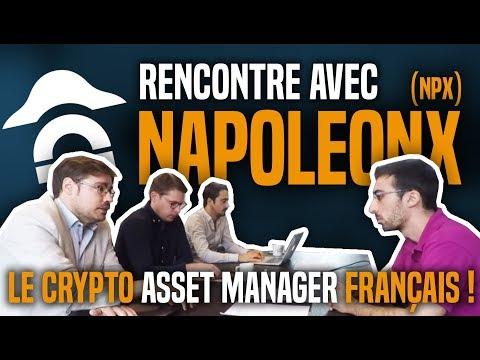 Rencontre avec NapoleonX : Le crypto asset manager français ! AOUT 2018 (English Subtitle)